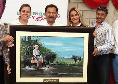 Con Dr. Jorge Morales Barud y Lilia Abarca