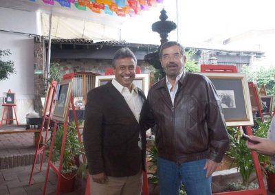 Con Dr. Juan Ramón de la Fuente