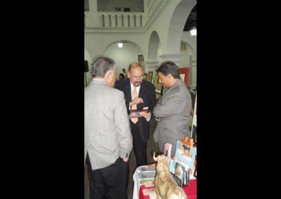 Con Dr. Rafael Vazquez Bayod