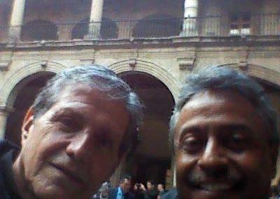 Con Hector Bonilla