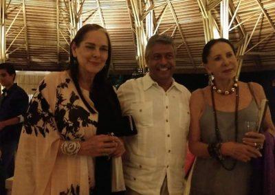 Con Isaura Espinoza Y Liliana Aragón