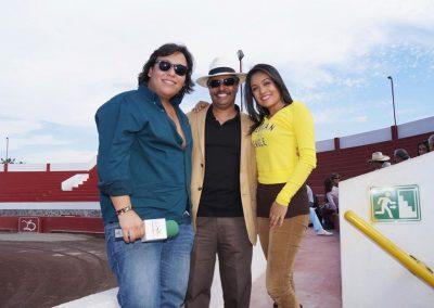 Con Jordi Olivares y Adriana Rios.