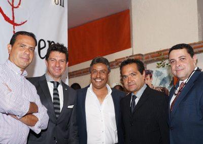 Con Juan Antonio Hernandez Rafael Anayar Guillermo Leal y Luis Miguel Castro