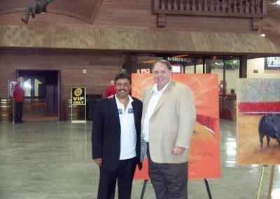 Con Michael Gaughan en Las Vegas