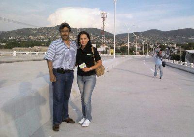 Con Michelle Onofre