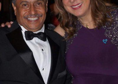 Con Rosy Orozco