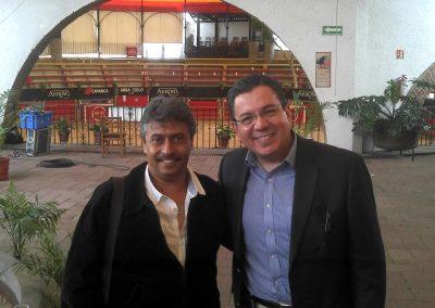 Con el Dr. Leopoldo de la Rosa