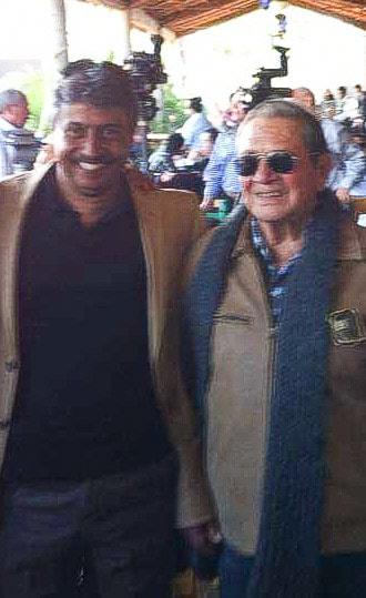Con el Maestro Humberto Peraza