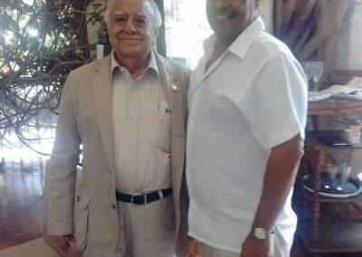 Con el Maestro Jorge Cazares Campos