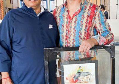 Con el Maestro Morante de la Puebla