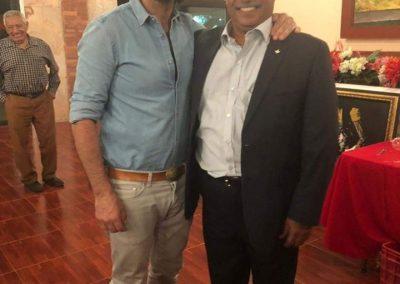 Con el Matador Javier Conde