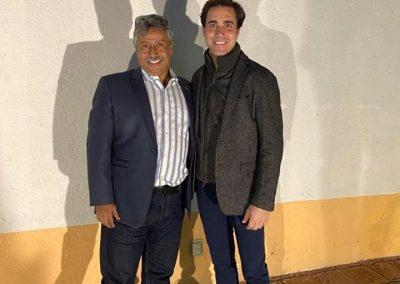Con el Matador José Mauricio