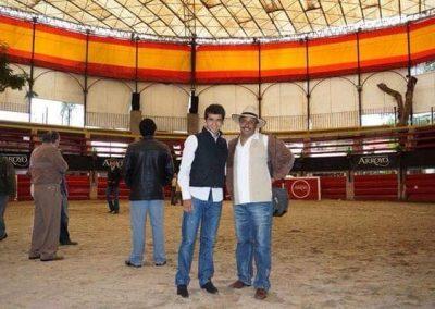 Con el Matador Joselito Adame