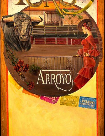 Cartel Arroyo prueba impresion