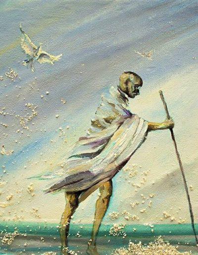 Gandhi. La Marcha de la Sal.