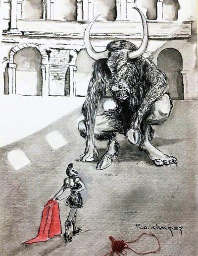 Minotauro a Carlos Loret de Mola