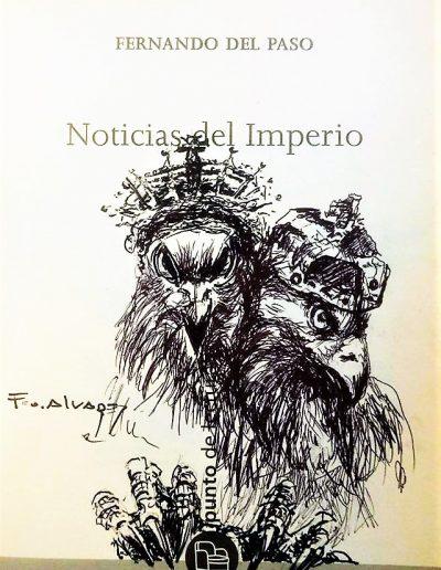 Noticias del Imperio Homenaje a Fernando del Paso.
