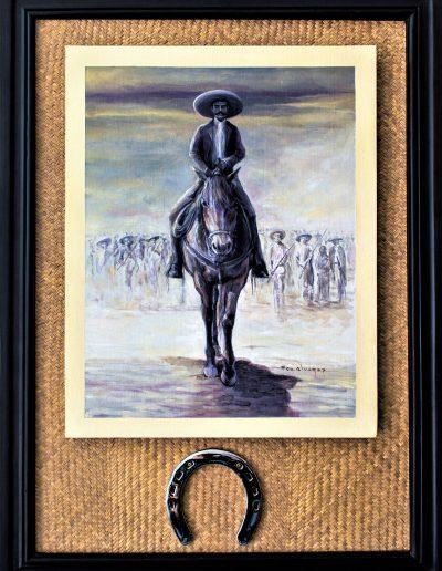 - Zapata a caballo